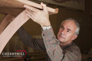 David Meyerowitz, owner of Cherryhill Woodcraft.